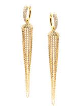 18KYG jINGLE Chandelier Earrings