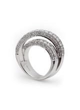 18KWG X.F. Diamond Ring