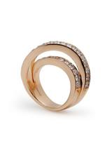 18KRG X.F. Diamond Ring