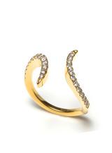 18KYG 0.48ct.-Diamond Doodle Ring