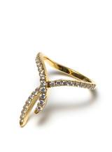 18KYG 0.76ct.-Diamond Doodle Ring