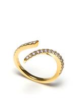 18KYG 0.47ct.-Diamond Doodle Ring