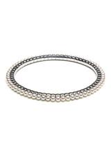 18KWG Akoya Pearls Ez Bracelet