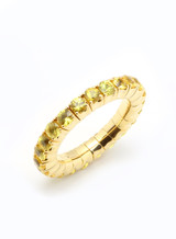 18KYG Yellow Sapphire EZ Ring