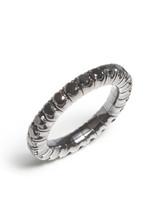 18KWG Black Diamond EZ Ring