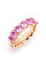 18KPG Pink Sapphire Ez Ring