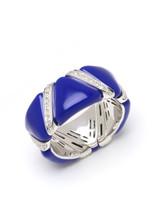 Blue Enamel EZ Glaze Ring