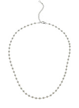 14K Akoya Cultured Pearl And Chain Necklace