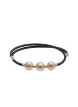 Golden South Sea Cultured Pearl Bracelet