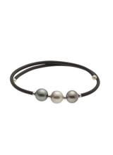 Mutli-Colored Tahitian Cultured Pearl Bracelet