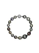 Tahitian Drop Multicolor Pearl Bracelet
