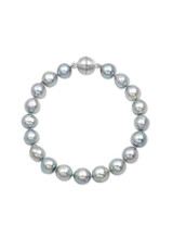 Natural Gray Akoya Baroque Pearl Bracelet