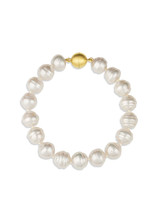 White South Sea Circle Pearl Bracelet