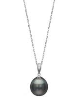 14K 11mm Tahitna Pearl Simple Bale Pendant