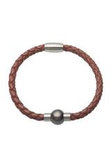 Unisex Tahitian Pearl Bangle Bracelet