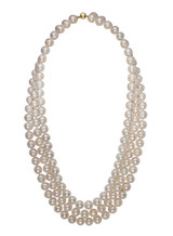 3-Row Nested Freshwater Pearl Necklace