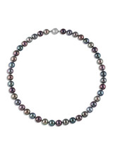 Tahitian Multicolor Pearl Necklace (A-5980THM)