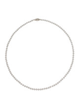 AA+ Baby Akoya 3x3.5mm Pearl Necklace