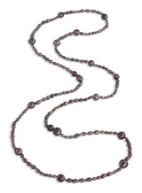 Tahitian Circle and Keshi Long Necklace