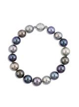 9x11mm Tahitian Multicolor Pearl Bracelet