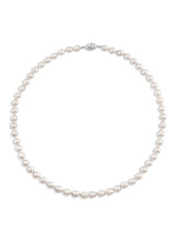 Rare Akoya Baroque 6.5x8mm Pearl Necklace
