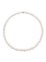 Rare Akoya Baroque 6x10mm Pearl Necklace