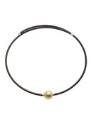 Golden South Sea Cultured Pearl Neckalce