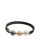 Mutli-Colored South Sea Cultured Pearl Bracelet