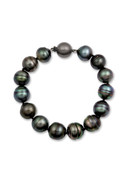 Tahitian Big Circle Pearl Bracelet