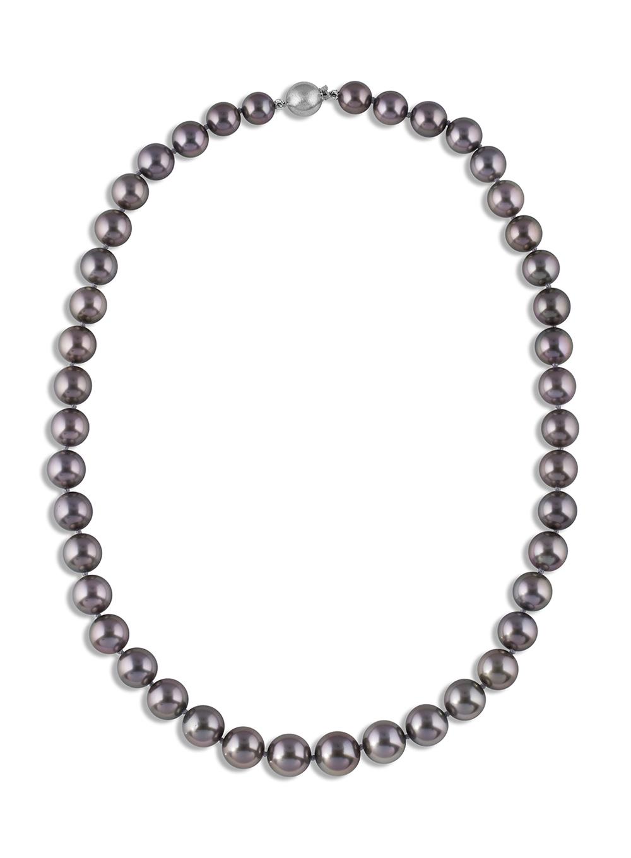 plain pearl necklace