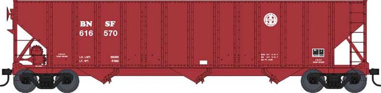 Bowser HO 42869 100 Ton Hopper Car, BNSF - Circle Cross, #616657