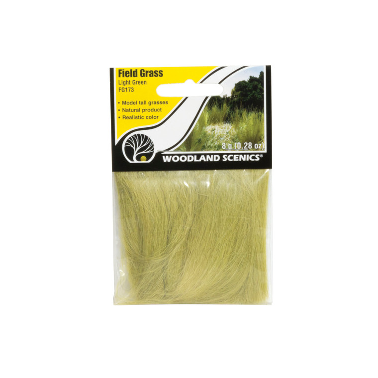 Woodland Scenics FG173 Field Grass, Light Green
