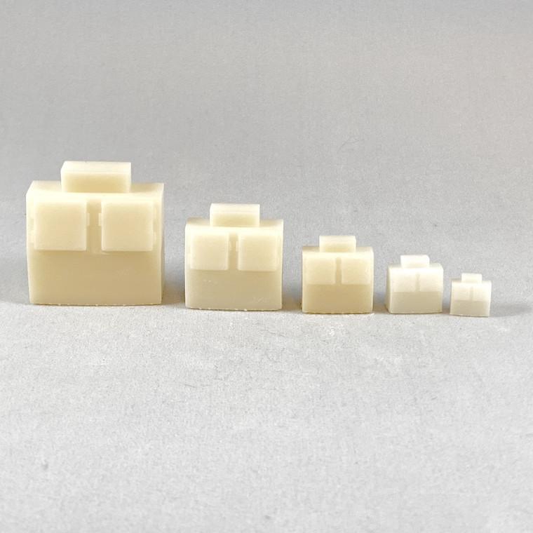 S, HO, TT, N,  Z scales shown of actual models