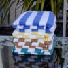 Venus group, Oceania, Cabana, pool, beach, towels, terrycloth, 100% cotton, four, striped, colors, bulk