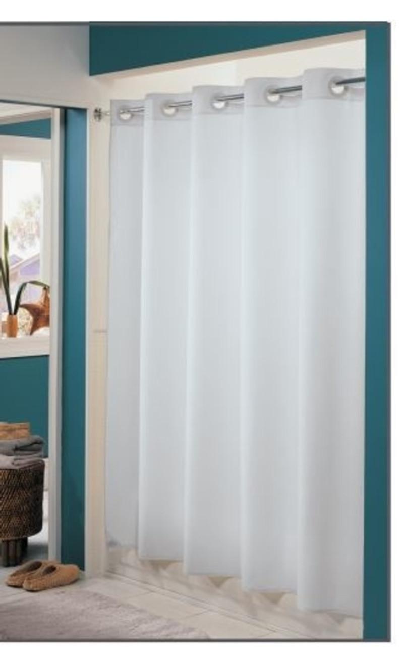 Nylon Hookless Shower Curtain HooklessShower Focus