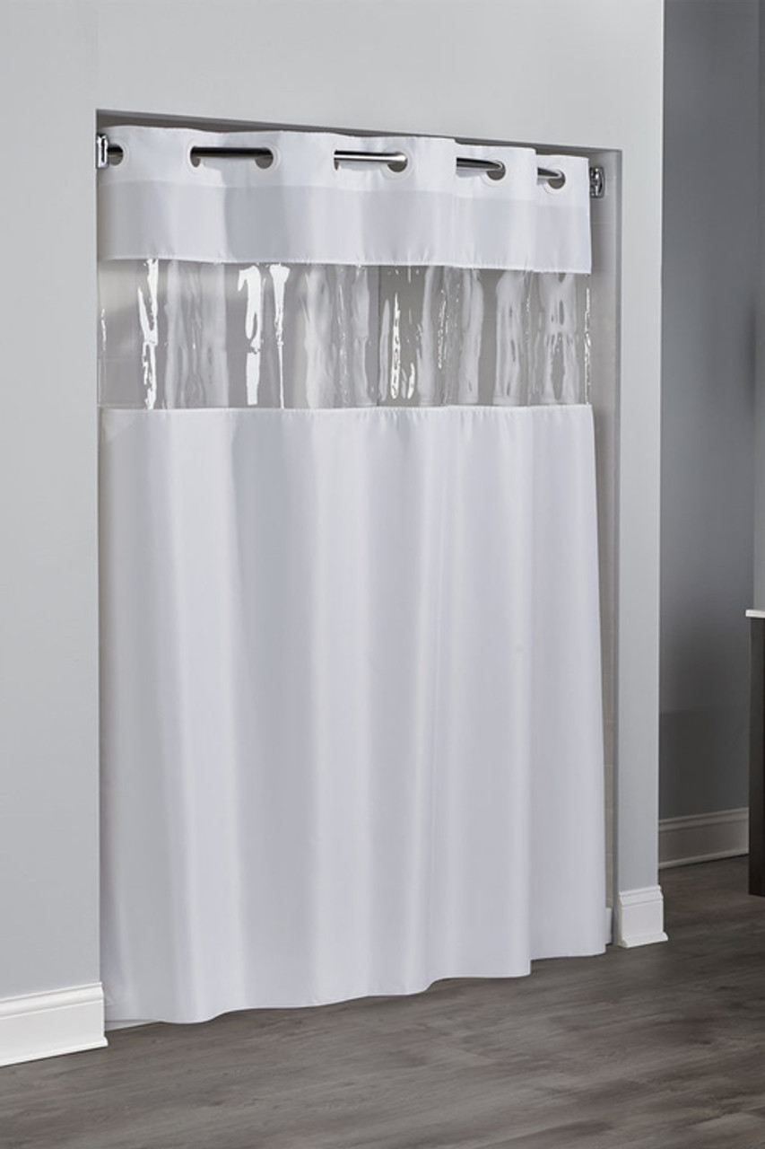 View From The Top Hookless Shower Curtain Hotelstoyoucom