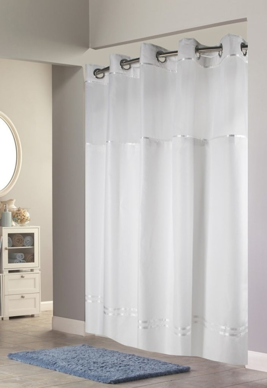 Escape Hookless Shower Curtain Focus