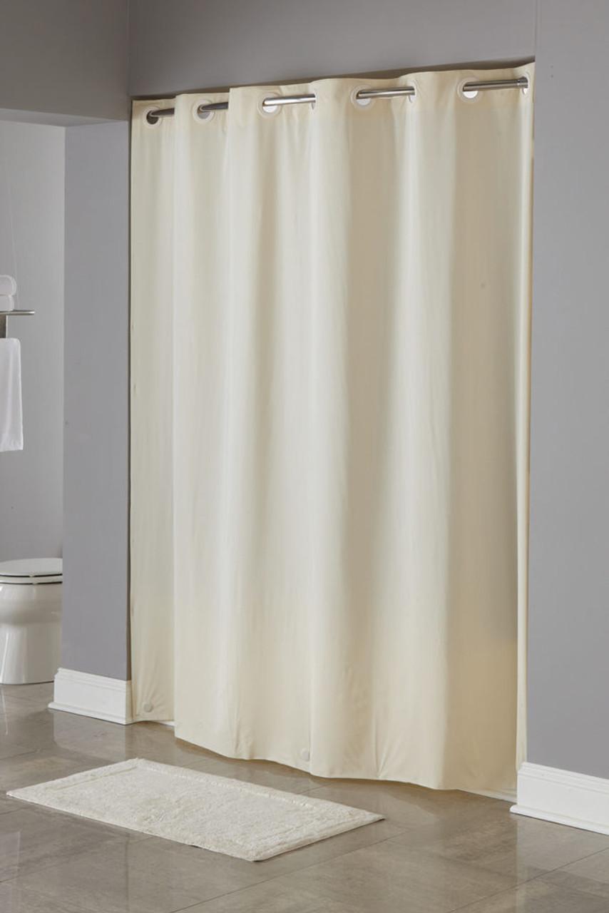 5 Gauge Peva Hookless Shower Curtain