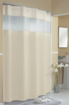 Pique Waffle HooklessR Shower Curtain