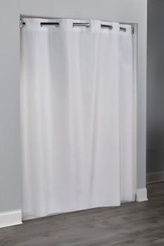 Embossed Moiré Hookless Shower Curtain, Embossed Moiré, Hookless, Shower, Curtain, hookless, focus group, bulk