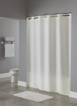 Nylon Hookless Shower Curtain, Nylon, Hookless,Shower, Curtain, hookless, focus group, bulk