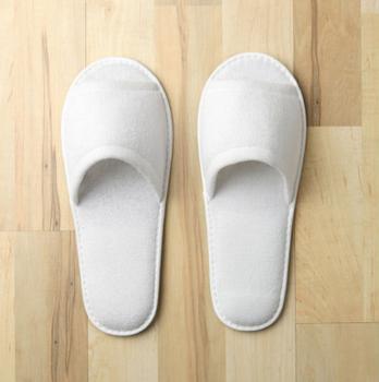 Open Toe Terry Slippers, Open, Toe, Terry, Slippers, monarch, cypress,