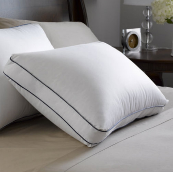 Feather, Luxury, Down, Pillow,500 thread count, 100%, Egyptian, cotton, bulk
