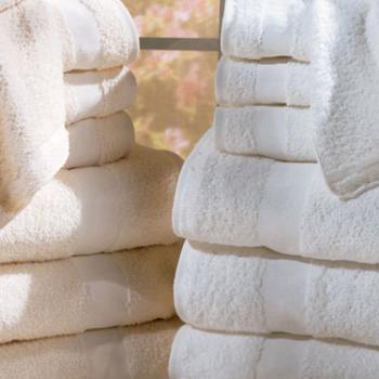 Ekostar, Textiles, White, Sand, Ring, Spun, Towel, bulk