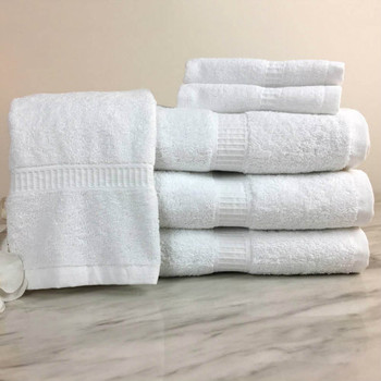 Treviso™ Towel Collection, Treviso, Towel, Collection, Venus,  100% Ring spun cotton, classic dobby border,