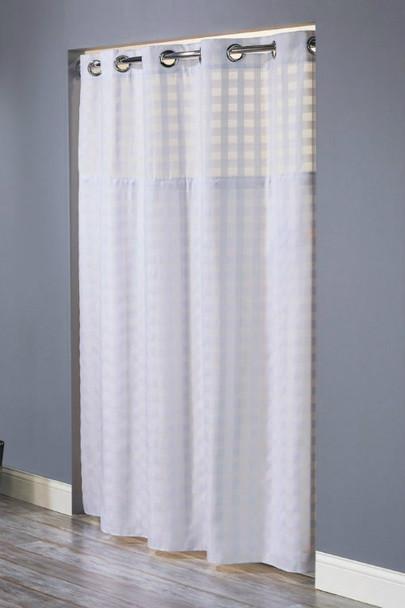 Shimmy Square Hookless Shower Curtain,Shimmy, Square, Hookless, Shower, Curtain, hookless, focus group, bulk