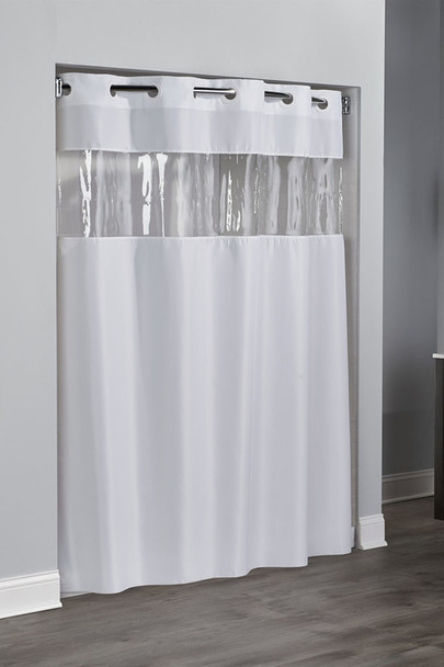 View From The Top Hookless Shower Curtain, View From The Top, Hookless, Shower ,Curtain, hookless, focus group, bulk