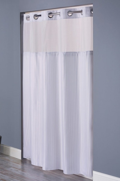 Double H Hookless Shower Curtain, Double H, Hookless, Shower, Curtain, hookless, focus group, bulk