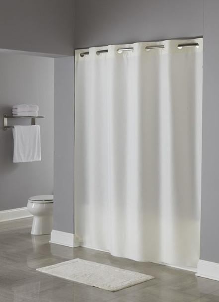 Nylon Hookless Shower Curtain, Nylon, Hookless,Shower, Curtain, hookless, focus group, bulk