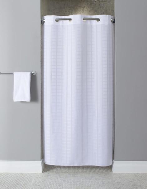 Stall Litchfield Hookless Shower Curtain